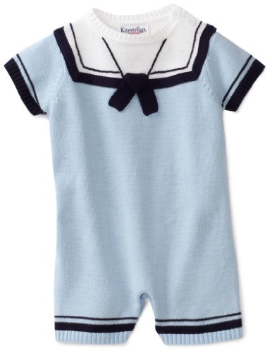 Hartstrings Baby-boys Newborn Sailor Sweater Romper
