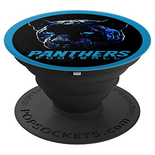 Keep Pounding Panther Football Black Phone Mount - PopSockets Grip and Stand for Phones and ()