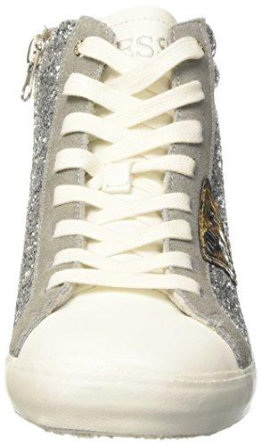 Femme Cassé bianco Sneakers Guess Holly Hautes Blanc SxtSw4pqg
