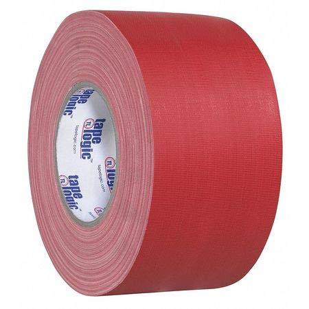 "Gaffers Tape, 4""x60 yd, 11 mil, Red, PK12"