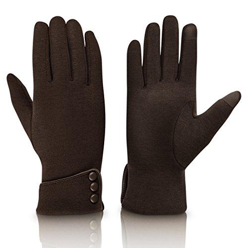 Brown Gloves - 5