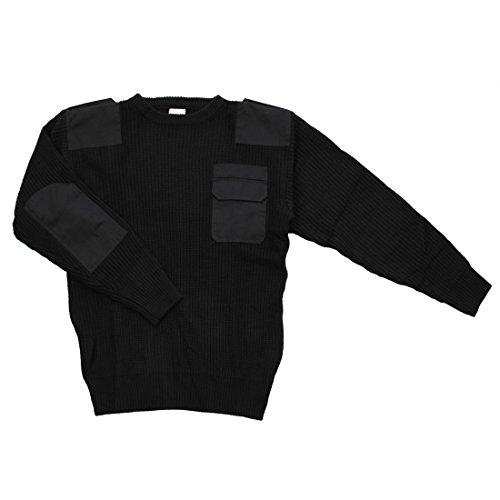 Nato Commando Colore Sweater Alxshop Acrylic Nero RdwadP