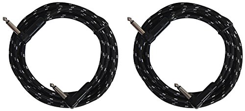 Sendt 6 3mm Braided Instrument Cables product image