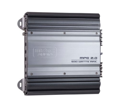 Mac Audio MPExclusive 20 - car audio amplifiers (Stainless steel) by Mac Audio