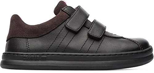 Camper Kids Unisex Runner Four Sneaker, Black, 31 D EU Little Kid (13 US)