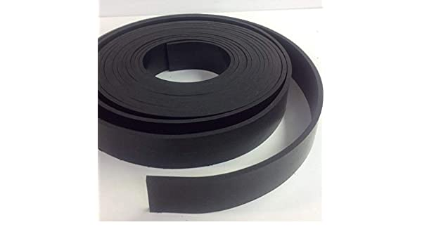 - Commercial Grade 65 Durometer +//- 5 Medium Hardness Long Liners Wide x 10 ft 120 1//8 Perfect for Gaskets Neoprene Rubber Strip 1.250 etc Weather Stripping Thick x 1-1//4 .125