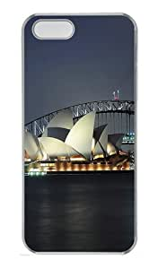 Sydney Photo Over Shadowed Custom PC Hard Plastic Case for iPhone 5/5S Transparent