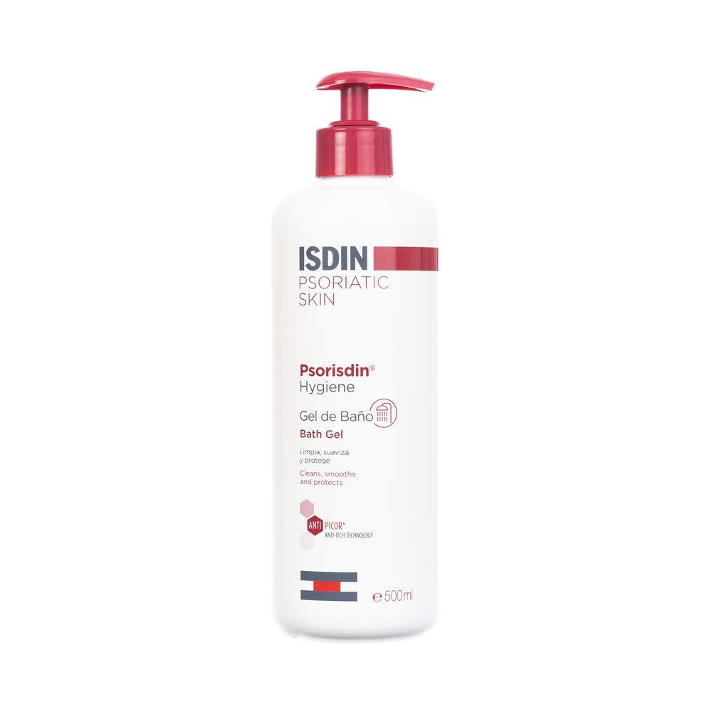 Isdin Psorisdin Hygiene Gel de Baño, Limpia, Suaviza y Protege la Piel de Personas con Psoriasis 1 x 500ml
