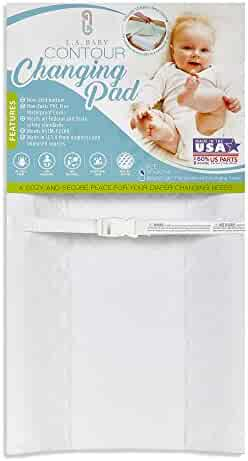 LA Baby Waterproof Contour Changing Pad, 30