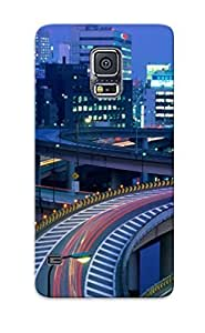 Fashionable Style Case Cover Skin For Galaxy S5- Tokyo At Night, Japan by mcsharks