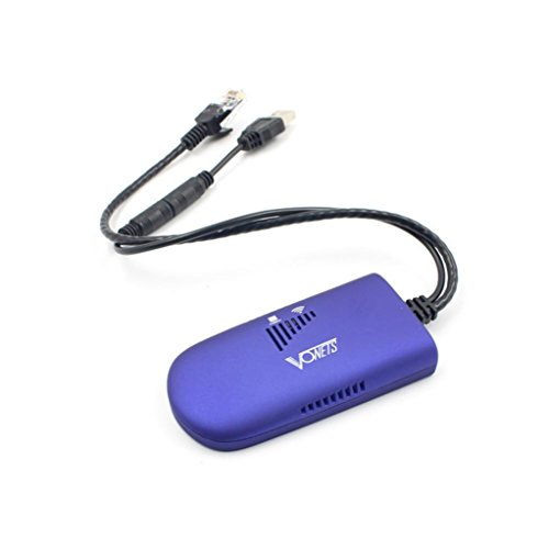 Dreamyth Wireless Wifi Bridges VONETS VAP11G-300 300 Mbps WiFi Bridge Repeater 802.11b/g/n For PC Monitor de Controle Portable (Blue)