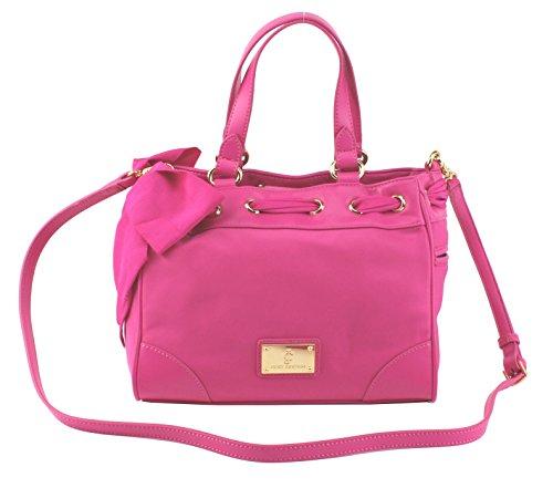 Juicy Couture Malibu Nylon Mini Daydreamer (Dragon Fruit) (Pink Juicy Couture Purse)