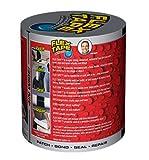 """Flex Tape Rubberized Waterproof Tape, 4"""" x 5', Gray"""