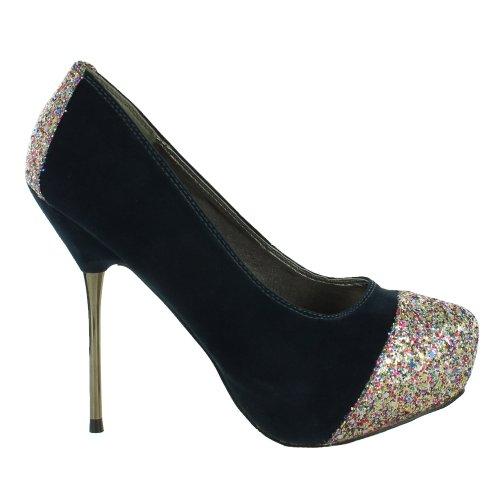 Footwear Sensation - Sandalias de vestir para mujer azul - azul marino