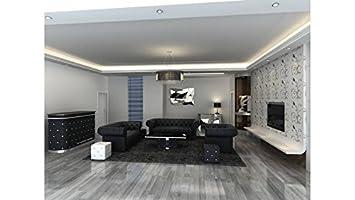 meilleur authentique 9a2d0 f018a Salon Chesterfield design: Amazon.fr: Cuisine & Maison
