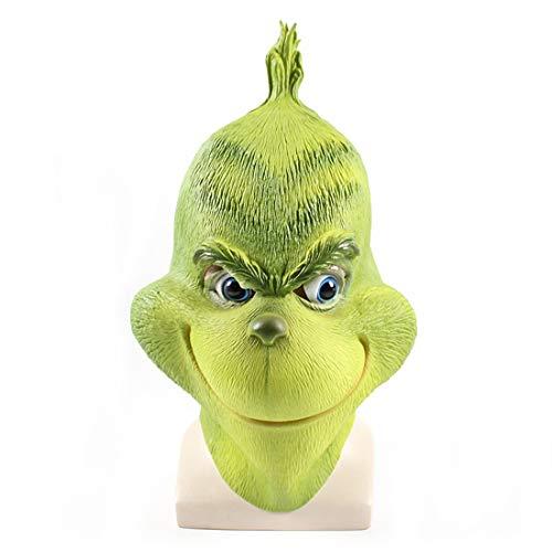 Film Cartoon The Grinch Cosplay Novelty 3D Latex Mask -