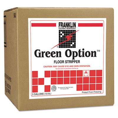 Franklin Cleaning Technology F219025 Green Option Floor Stripper, Liquid, 5 Gallon Box