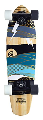 Madrid Cruiser Skateboard (GoldCoast Skateboard - Complete Longboard - Salvo Cruiser 27
