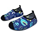 L-RUN Unisex Barefoot Flexible Aqua Water Shoes for Beach Pool Surf Yoga Exercise