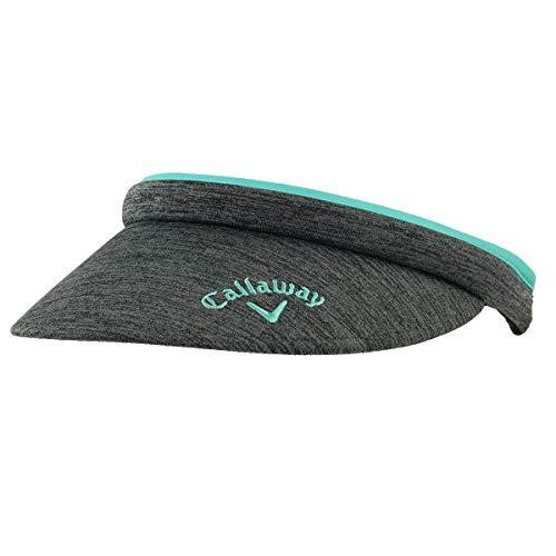 - Callaway Golf Hat Womens Clip Visor (Adjustable, Charcoal, Womens Headwear)