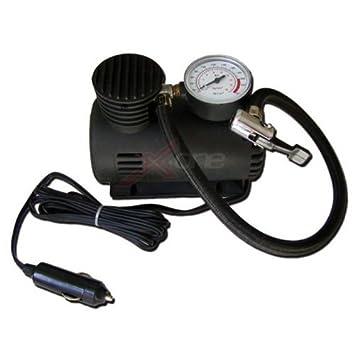 Accesorio para Coche 12 V con Manómetro Potencia 250 PSI 18bar Compresor Aire: Amazon.es: Coche y moto