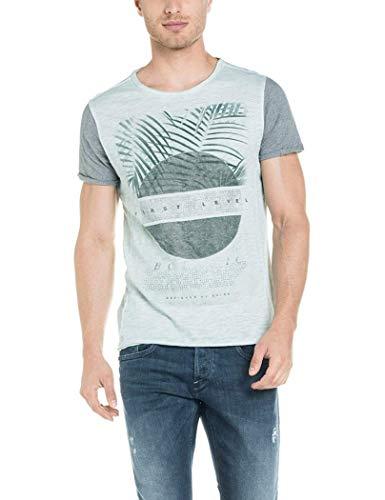 Salsa Jeans - Camiseta hombre manga corta SALSA JEANS1145778059 - L, Verde
