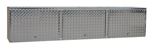 Pit Posse 903 Overhead Storage Shop Aluminum Cabinet Race Car Enclosed Cargo Trailer Shelf by Pit Posse