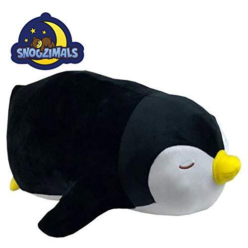 Go! Games Snoozimals 20in Penguin Plush