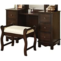 Acme 06552 2-Piece Annapolis Vanity Set, Espresso Finish