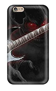 Awesome Guitar Flip Case With Fashion Design For Iphone 6
