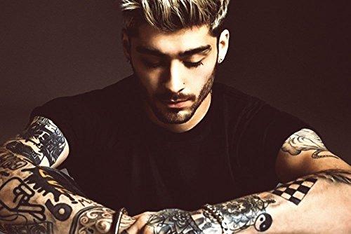 Zayn Malik Tattoos 2016 Poster 24x36