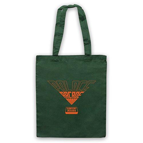 Logo Arcade Things Officieux Fonce Vert par Sac Inspire Orange Palace d'emballage Stranger qATn1g