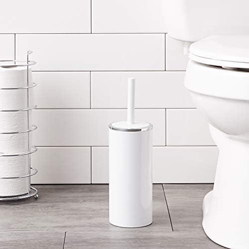 9.5x9.5x27.5 cm Acero Inoxidable Wenko Juego para WC