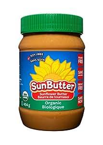 Sunbutter Unsweetened Organic, 454 gm