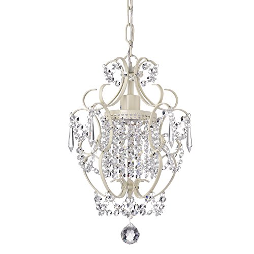mini chandelier white - 1