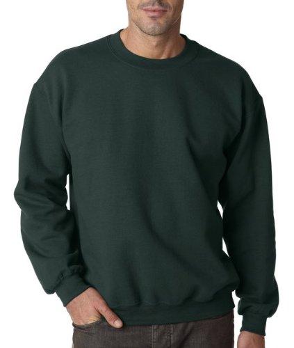 Gildan Men's Heavy Blend Crewneck Sweatshirt - XX-Large - Forest Green ()