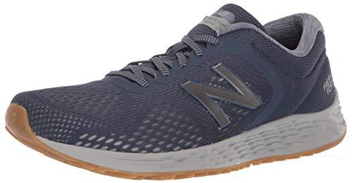 New Balance Men's Arishi V2 Fresh Foam Running Shoe, Navy/Grey, 13 4E US