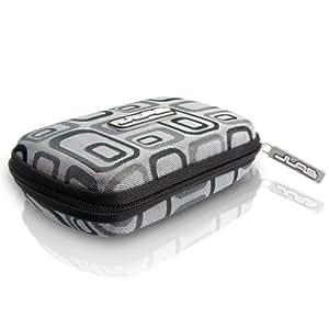 Samba Travel Case for JBuds J2 Earbuds (Black Jacquard) (Discontinued by Manufacturer)