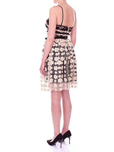 Schwarz NORA Gold und 11044204 BARTH Kleid Damen Kurzes qqwBZUTxR