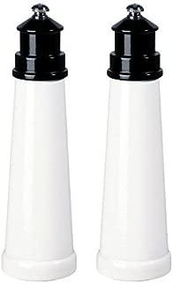 """product image for Fletchers' Mill 9"""" Lighthouse Pepper & Salt Mill/Grinder Set - Black"""
