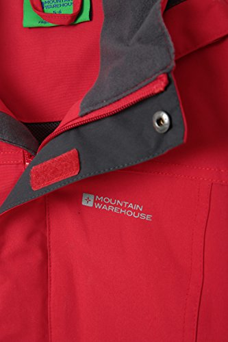 Rain Jacket Mountain Suitable Red amp; Coat Orbit Durable Girls for Kids Warehouse Summer Jacket Boys Coat Rain Security Flap Waterproof Casual Storm Childrens Pockets wUUxqXtFr