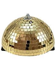 EUROLITE Spiegel-halve bal 20cm goud gemotoriseerd