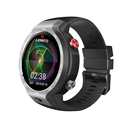 LEMFO LEM9 Reloj Inteligente de Doble Sistema 4G Android 7.1 ...