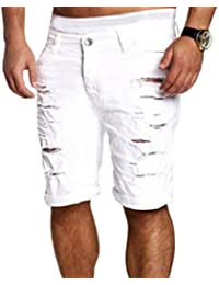 Amazon.com: White - Denim / Shorts: Clothing, Shoes & Jewelry