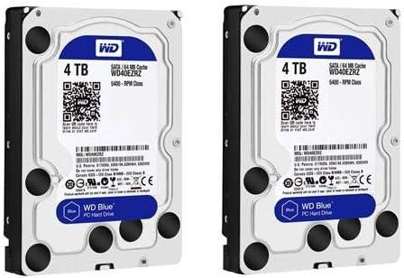 Amazon com: Western Digital WD 2 Pack Blue 3 5