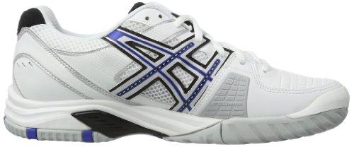 Asics 0143 de tennis 9 Blanc Challenger Gel Argent homme Chaussures Bleu SUxqfSr