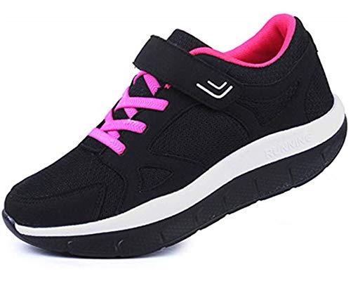 (ダダウン)DADAWEN レディース ウォーキングシューズ 婦人 厚底 スニーカー 軽量 歩くやすい 快適 通勤靴 蒸れにくい スポーツシューズ