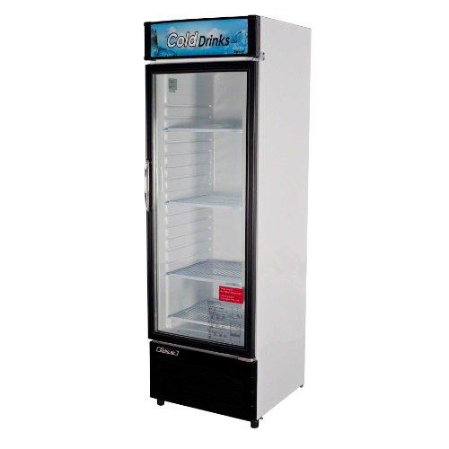 Front Refrigerated Merchandiser - Turbo Air TGM-14RV, 1 Door, Glass Swing Door Refrigerator