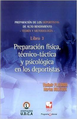 PREPARACION DE LOS DEPORTISTAS 3 DE ALTO: Vladimir PLATÓNOV ...