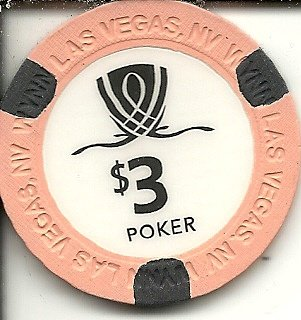$3 wynn las vegas casino chip authentic